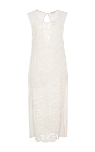 Medium lenny niemeyer white lace tunic dress
