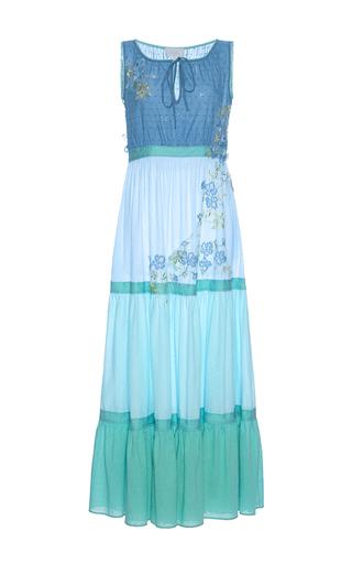 Medium luisa beccaria multi cotton plumetil multicolor maxi dress