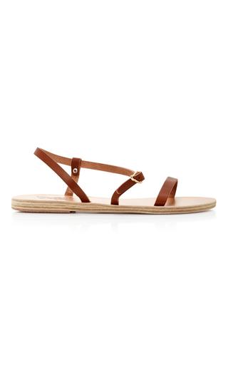 Medium ancient greek sandals brown niove sandal