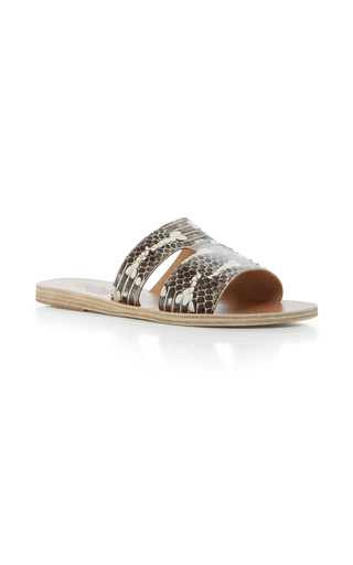 Medium ancient greek sandals python elaphe sandals