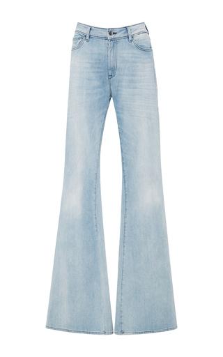 Medium seafarer light wash blase high rise flare jeans
