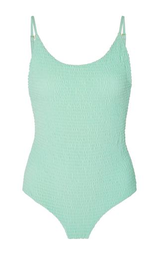 Medium tori praver blue honolua smocked swimsuit