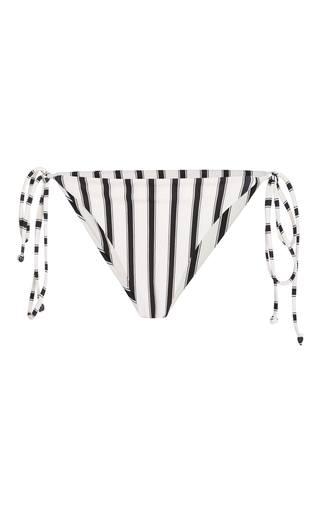 Medium tori praver stripe allegra string bikini bottom