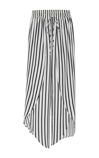 Medium tori praver stripe justine woven pant