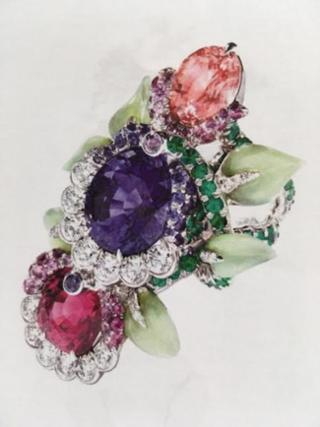 Secret Garden Ring by FABERGE for Preorder on Moda Operandi