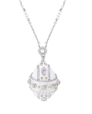 Summer In Provence Diamond Pendant by FABERGE for Preorder on Moda Operandi