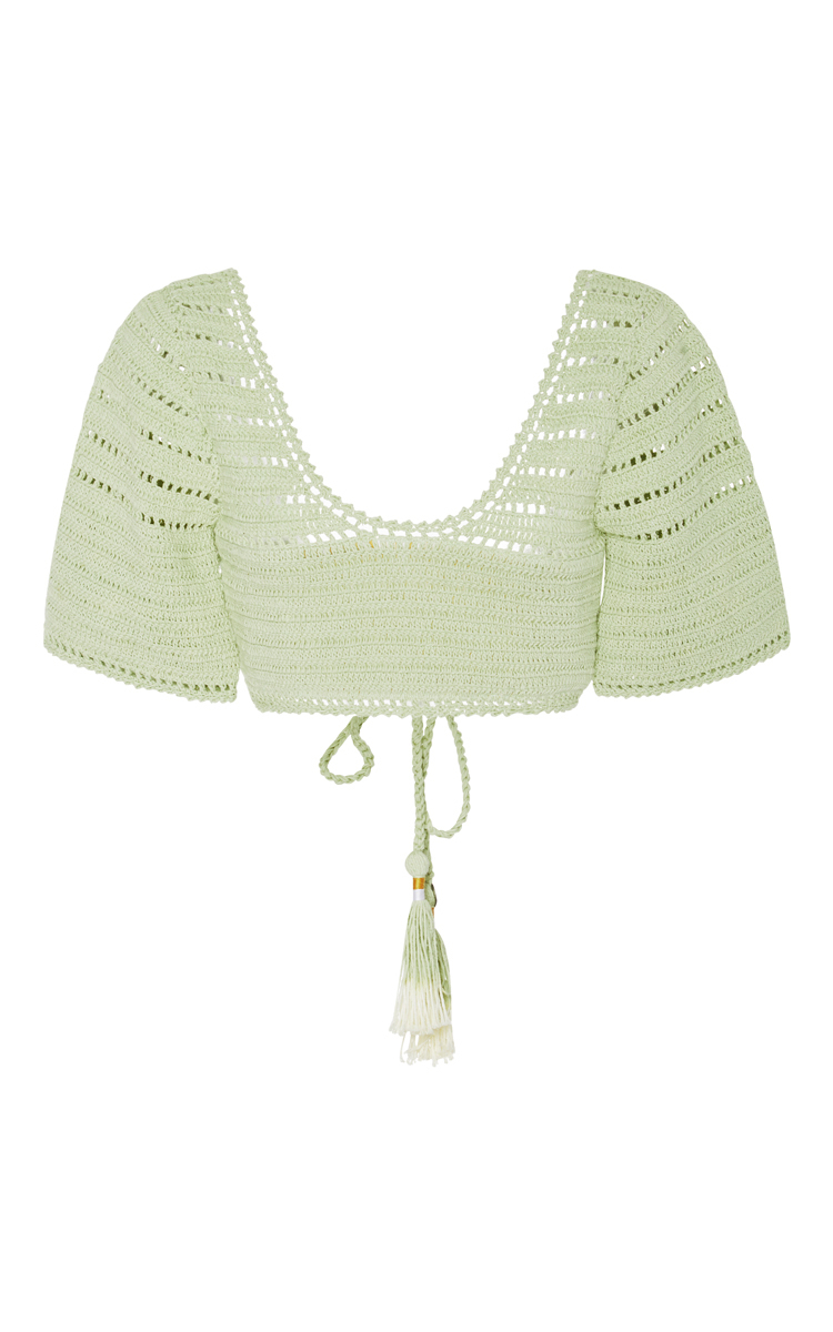 Sana Crochet Bikini Top