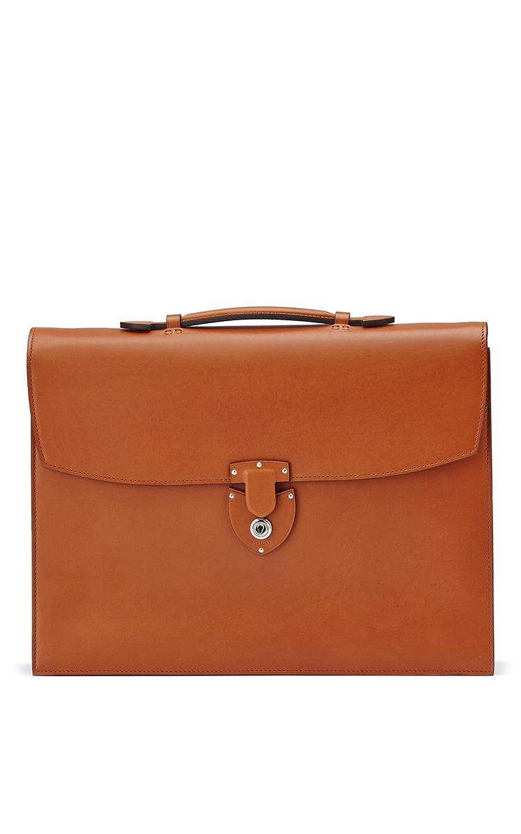 Two Gusset Briefcase By Bertoni1949
