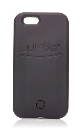 Medium lumee black lighted iphone 6s case