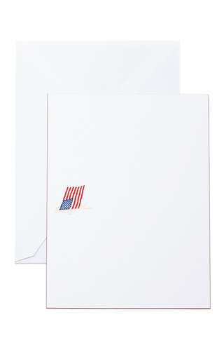 Medium the printery multi american flag boxed note cards