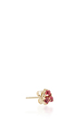 Red Spinel Stud Earring by EDEN PRESLEY Now Available on Moda Operandi