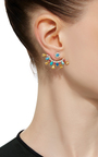 Stud Earrings And Ear Jacket by EDEN PRESLEY Now Available on Moda Operandi