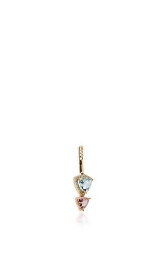 Tourmaline And Aquamarine Ear Jacket  by EDEN PRESLEY Now Available on Moda Operandi