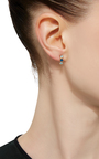 Topaz And Boulder Stud Earring by EDEN PRESLEY Now Available on Moda Operandi