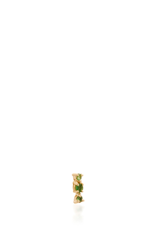 Chrome Diopside Stud Earring by EDEN PRESLEY Now Available on Moda Operandi