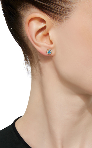 Opal And Diamond Stud by EDEN PRESLEY Now Available on Moda Operandi