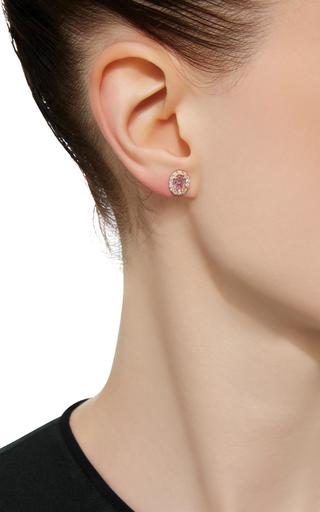 Zircon And Diamond Stud Earring by EDEN PRESLEY Now Available on Moda Operandi