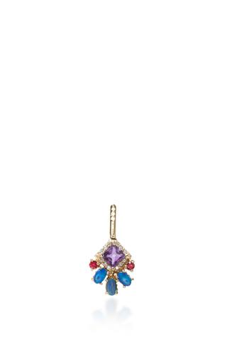 Medium eden presley purple square ear jacket earrings 2