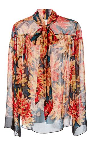 Medium tryb floral clara floral bell sleeve top
