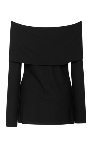 Long Sleeve Off The Shoulder Top by DEREK LAM Now Available on Moda Operandi