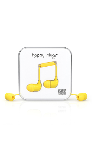 Medium happy plugs yellow mo7721