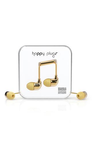 Medium happy plugs gold mo7728