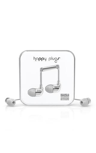 Medium happy plugs silver mo7736