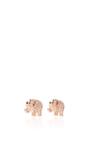Mini Elephant Studs by SYDNEY EVAN Now Available on Moda Operandi