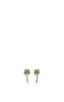 Palm Tree Studs by SYDNEY EVAN Now Available on Moda Operandi