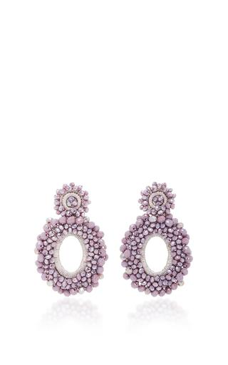 Medium bibi marini purple m o exclusive beaded drop earrings 5