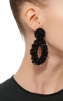 *M'o Exclusive* Beaded Drop Earrings by BIBI MARINI Now Available on Moda Operandi