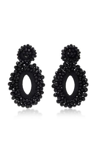 Medium bibi marini black m o exclusive beaded drop earrings 8