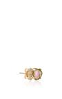 Watermelon Tourmaline And Diamond Stud by JACQUIE AICHE Now Available on Moda Operandi