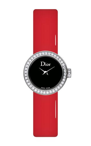 Medium dior timepieces black cd040110a018