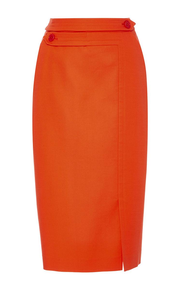 Midi Length Pencil Skirt by Dice Kayek | Moda Operandi