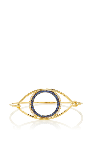 Medium marianna goulandris blue avra eye bangle