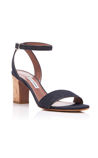 Medium tabitha simmons blue leticia denim sandal