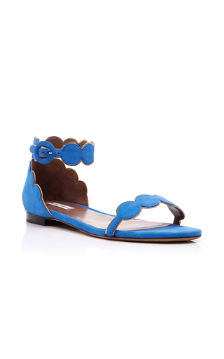 Medium tabitha simmons blue pearl sandal