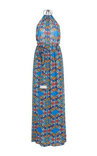 Medium paolita print reema printed maxi dress