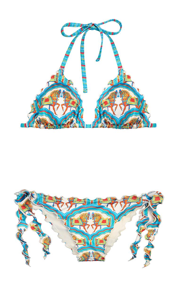 d382c185842086 Aurelia Frill Bikini Set by Paolita   Moda Operandi