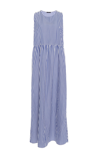 Medium mds stripes stripe cape stripe maxi dress