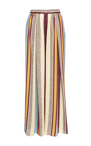 Medium maison pere stripe glory striped wide leg trousers