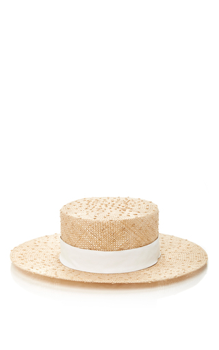 Medium awon golding millinery tan starling boater