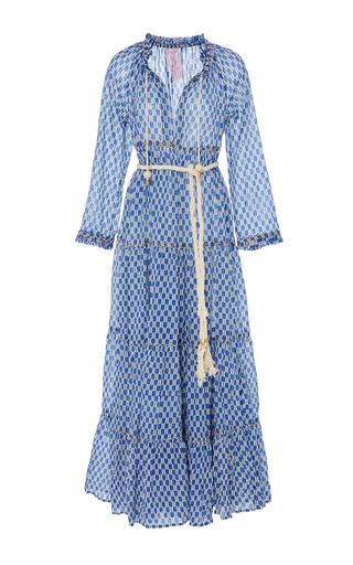 Medium yvonne s print sheer maxi dress