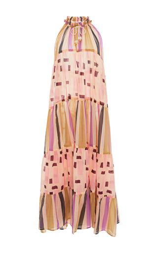 Medium yvonne s print sleeveless maxi dress