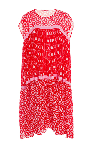 Medium yvonne s pink tunic dress