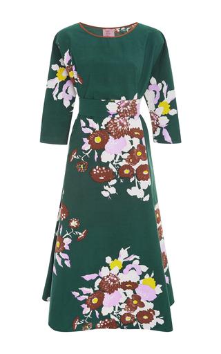 Medium yvonne s floral floral a line dress