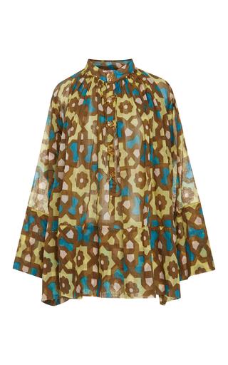 Medium yvonne s print v neck printed blouse