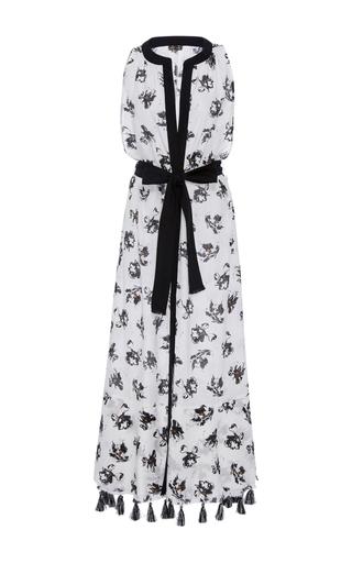 Medium proenza schouler print falling flowers maxi dress