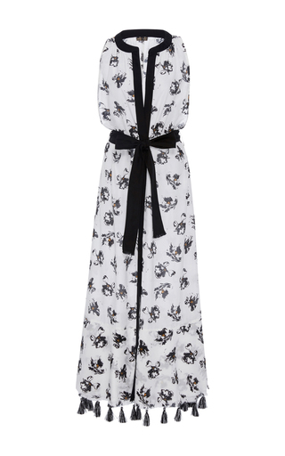 Medium proenza schouler print falling flowers maxi dress